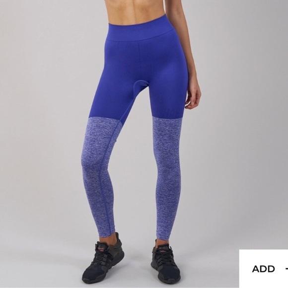 eef4bff99b335 Gymshark Pants | Twotone Seamless Leggings In Indigo | Poshmark